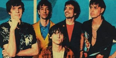 U.S. rock band The Strokes