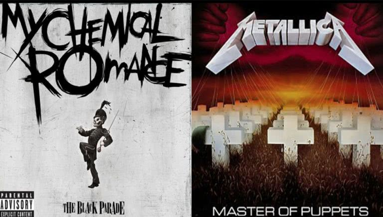 My Chemical Romance and Metallica mashed up together as My Chemical 'Tallica