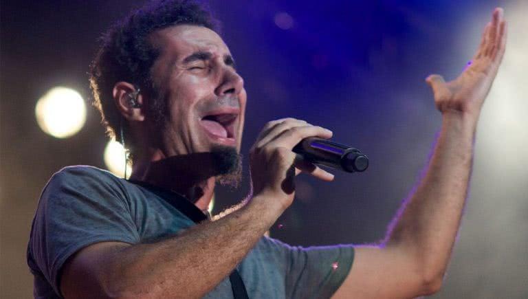 System Of A Down frontman Serj Tankian