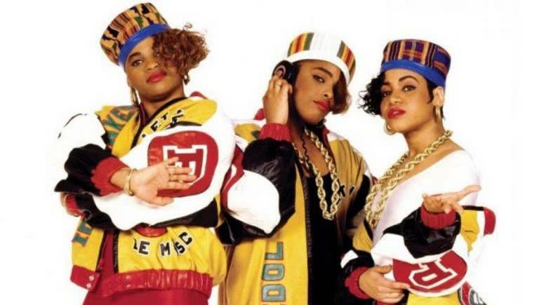 Salt-N-Pepa with DJ Spinderella