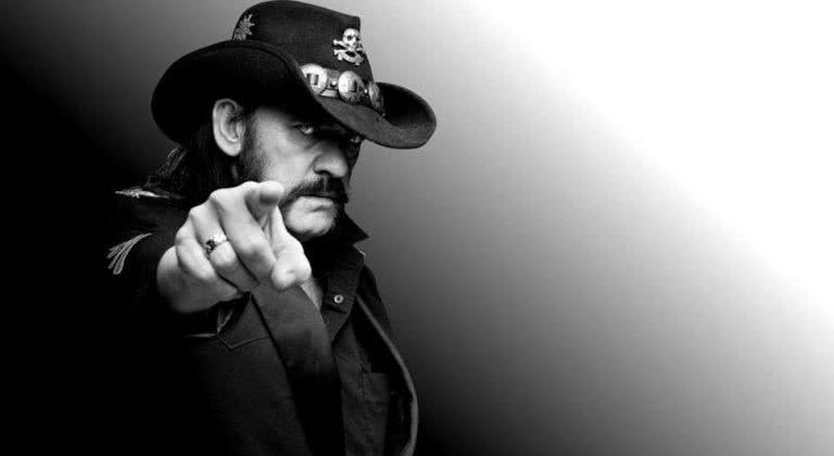 Lemmy Kilmoster of Motorhead