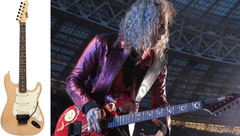 Kirk Hammett is selling his guitar on auction site