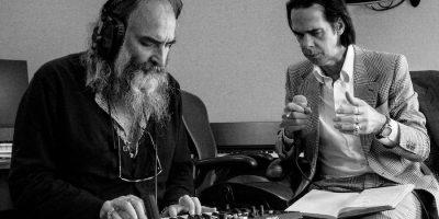 Nick Cave & Warren Ellis by Joel Ryan
