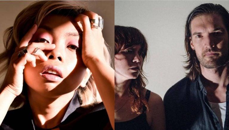 Two panel image of LÂLKA and Party Dozen, two of community radio's Australian music picks