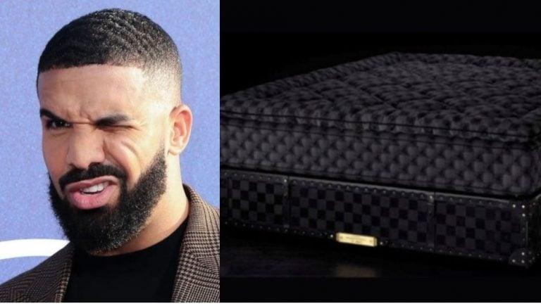 Drake sleeps on a 400k bed made of stingray skin