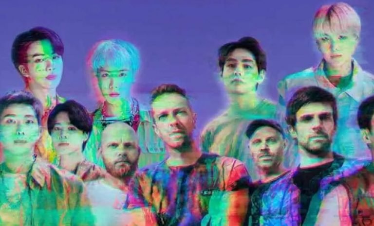 BTS COLDPLAY MY UNIVERSE