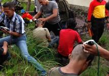 Indonesian Police Raid Punk Gig, Shave Mohawks