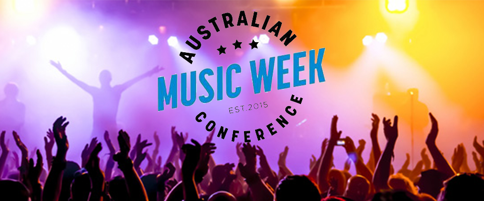 We're giving away a double pass to Australian Music Week 2017
