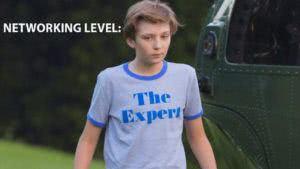 barron trump the expert tshirt