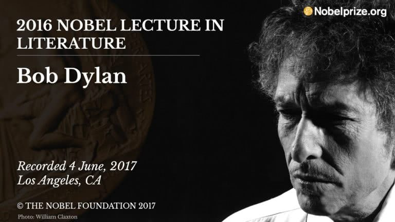 Bob Dylan accused of plagiarising his Nobel Prize acceptance speech