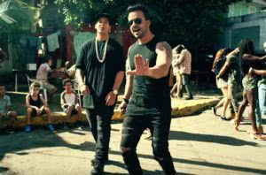 Despacito music video screen shot