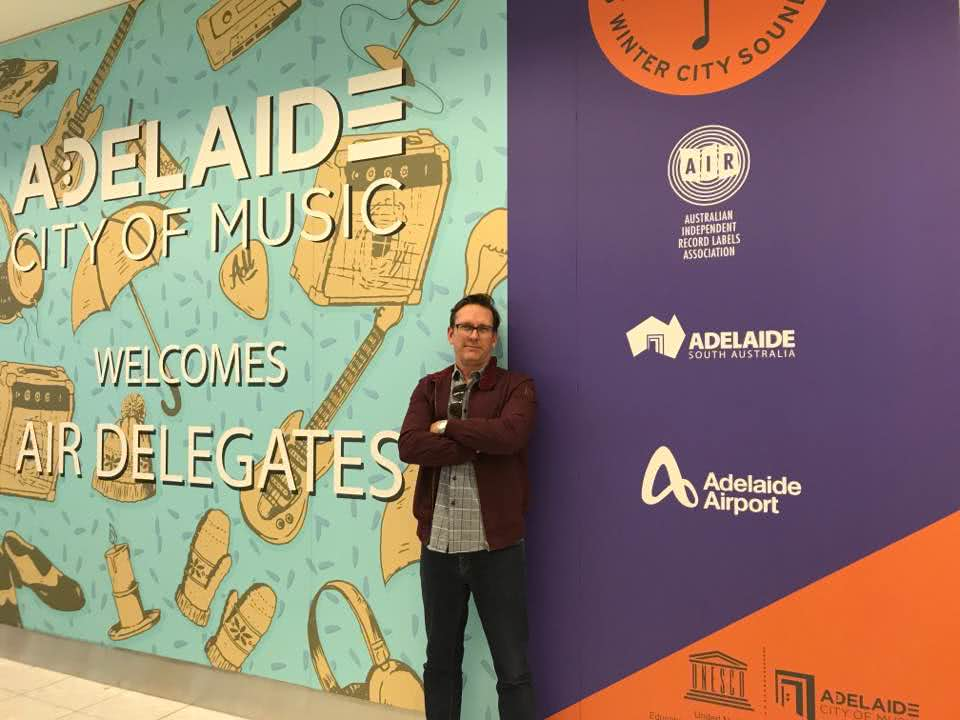 Nightlife's Stuart Watters at indie-con australia in adelaide