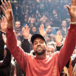 Kanye West at the launch for The Life Of Pablo