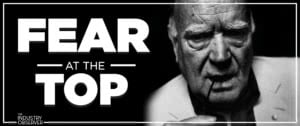 fear at the top michael chugg podcast black and white