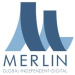 Logo for digital rights agency Merlin