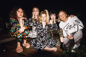 australian five-piece band boat show press shot 2017