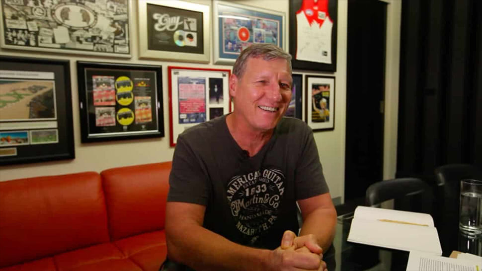 Australian country music promoter Rob Potts