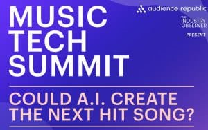 music tech summit 2017 poster