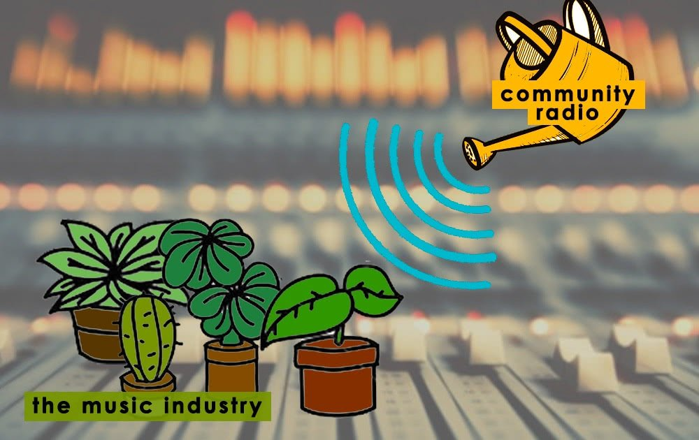 Community radio is growing the music industry