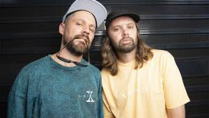Blue Mountains duo Hermitude, who have just been added to full triple j rotation with 'Northern Lights'