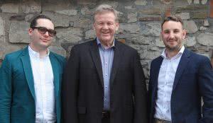 Dan Ickowitz-Seidler, Geoff Jones and Richard Buck