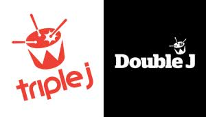2 panel image of the triple j and Double j logos