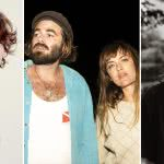 Three panel image of Dean Lewis, Angus & Julia Stone, and Tash Sultana, who all shared their Spotify streaming data recently
